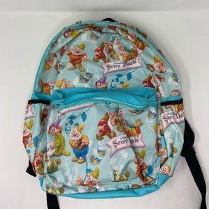 Disney Seven Dwarfs Zip Up Backpack
